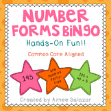 Number Forms Bingo