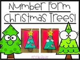 Number Forms Christmas Craftivity {expanded form, base ten}