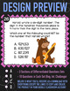 Number Forms & Comparing Numbers ★ 4th Grade Google Classroom ★ 4NBT2 Task Cards