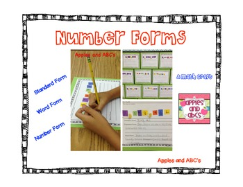 Number Forms Craft