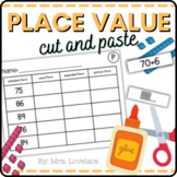 Number Forms Cut and Paste with Place Value, Expanded, Sta