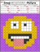 Number Forms | Emoji Place Value Mystery Pictures | Place Value Color by Number
