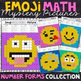 Number Forms | Emoji Place Value Mystery Pictures | Place