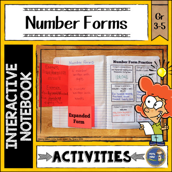 Number Forms Interactive Notebook
