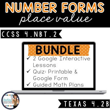 Number Forms Lesson BUNDLE