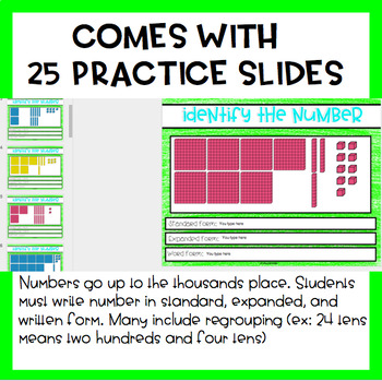 Number Forms Practice for the Digital Classroom