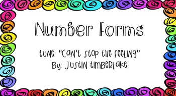Number Forms Song