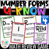 Number Forms U-Know | Review 4th Grade  {4.NBT.2}