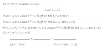 4.NBT.1 Number Forms and Values