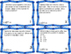 Number Form/Compare Task Card5th Grade Math Common Core 5.