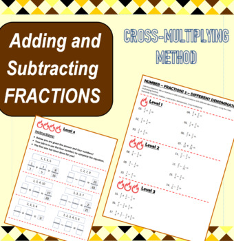 Number - Fractions 3 - Adding and Subtracting Fractions (Different Denominators)