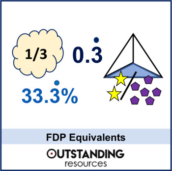 Number: Fractions 3 - Fractions, Decimal and Percentage Equivalents (FDP)