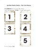 Number Frame Game with White Wood Grain Background