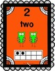 Number Frames 1-10 Chevron Owls with ten frame