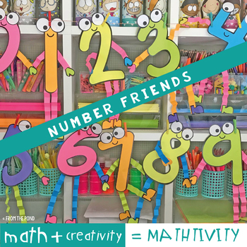 Number Friends Math Crafts