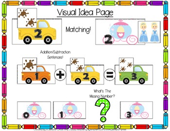 Number Fun 0-10 ~Dump Trucks & Stage Coaches~ Many Uses PLUS Printables!