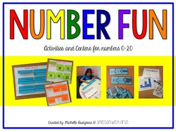 Number Fun {Activities and Centers for #s to 20}