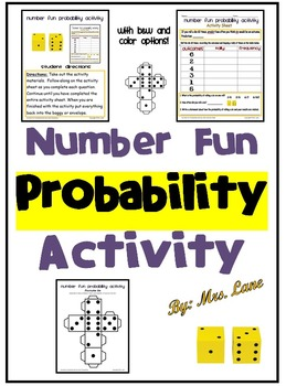 Number Fun Probability Activity