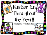 Number Fun Throughout the Year