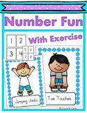 Number Fun With Exercise (A Brain Break Activity) Number Recognition & Counting