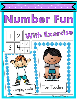 Number Fun With Exercise (A Brain Break Activity) Number R