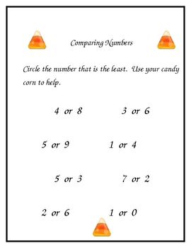 Number Fun with Candy Corn