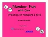 Number Fun with Dice