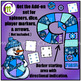 Number Game Boards Clip Art ♦ Winter Edition