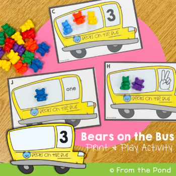 Number Game / Center: Bears on the Bus