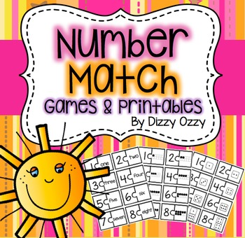 Number Games and Printables