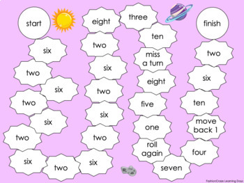 Numbers 0-20 and Number Word Games