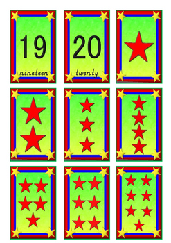 Number Games with Flash Cards