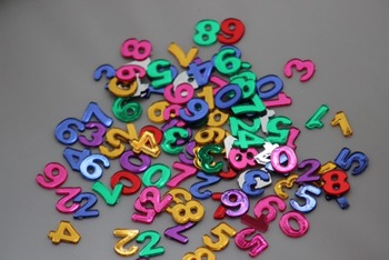 Number Gems for Learning Games 3 pkgs of 100