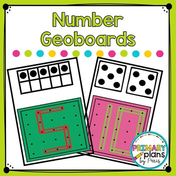 Number Geoboard Task Boxes