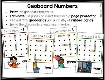 Geoboard Numbers