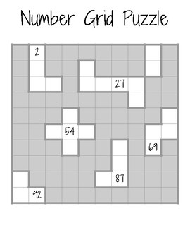 Number Gird Puzzles