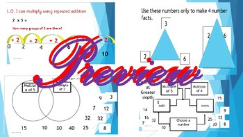 Number Grade 1 Preview