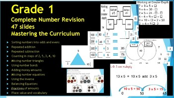 Number Grade 1 Revision Guide