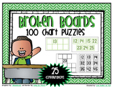 More and Less Number Grid - 100's chart Puzzles