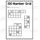 100 Number Grid No Prep Pack