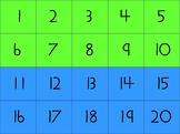 Number Grid Cards