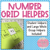 Number Grid Helpers! 10 more, 10 less, 1 more, 1 less!