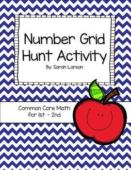 Number Grid Hunt Activity