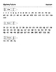 Number Grid Mystery Picture - Snowman
