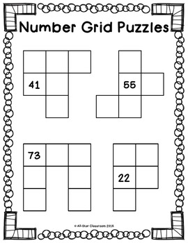 Number Grid Puzzles