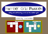 Number Grid Puzzles Add Subtract 1 or 10 SmartBoard Lesson