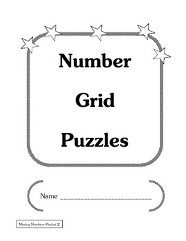 Number Grid Puzzles (Missing Numbers #2)