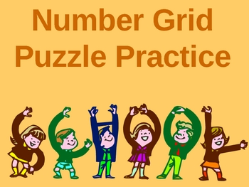 Number Grid Puzzles Powerpoint (Everyday Math)