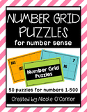 Number Grid Puzzles for Number Sense