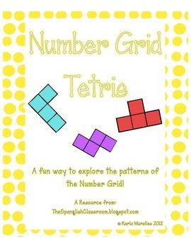 Number Grid Tetris